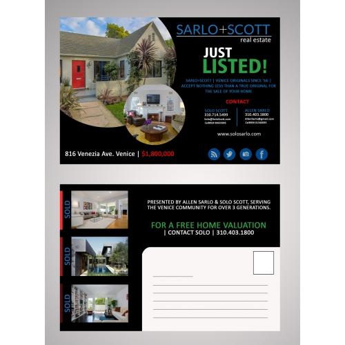 POstcard Design for SS Estate