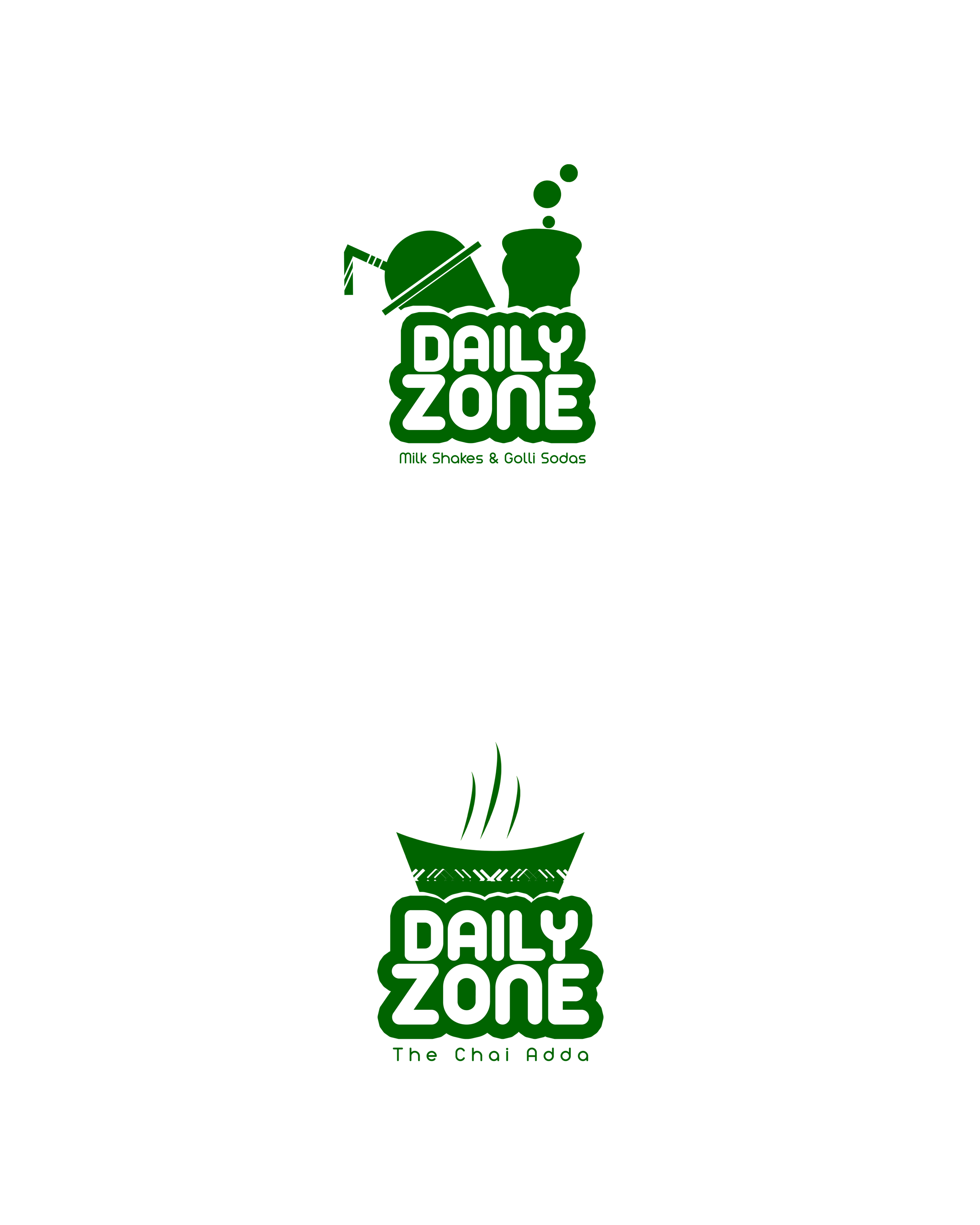 Logo Design For Daily Zone ... Drink spot