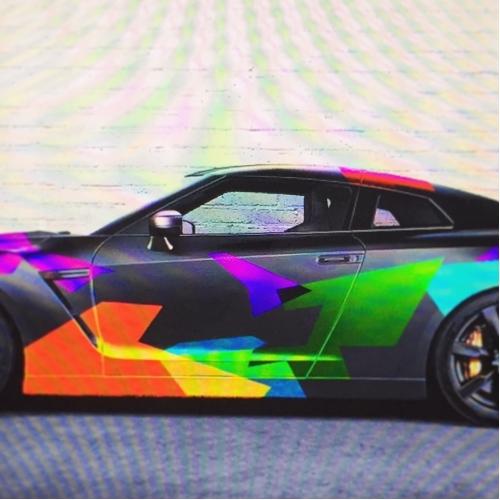 GTR Car Wrap Design