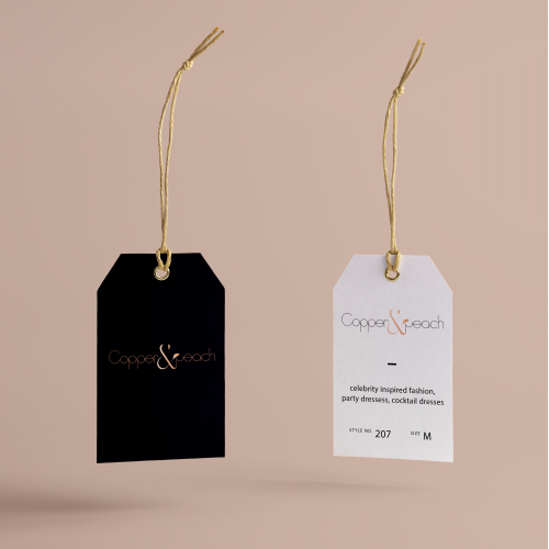 Retail Brand logo and Clothing tag design