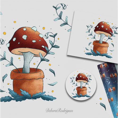 Mushroom Illustration