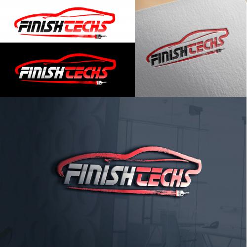 FinishTech Vehicle Touchup Logo Design Contest