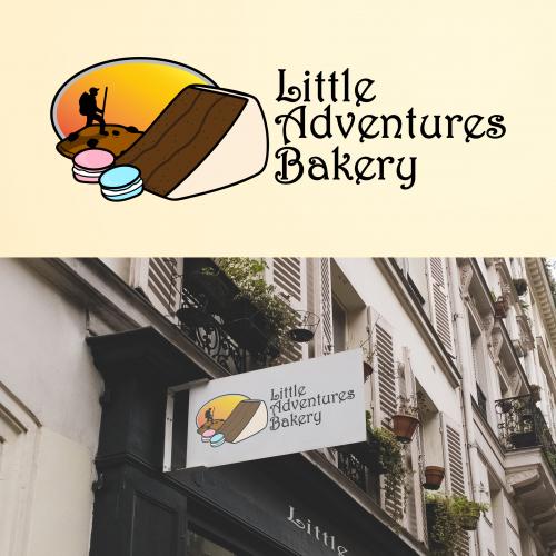 Little Adventures Bakery logo design contest
