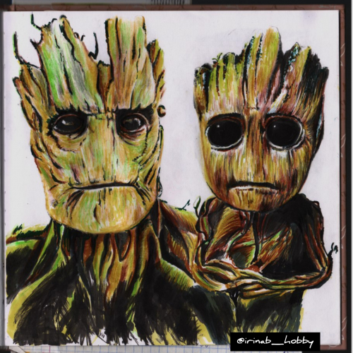 Groot from Marvel (Avengers )