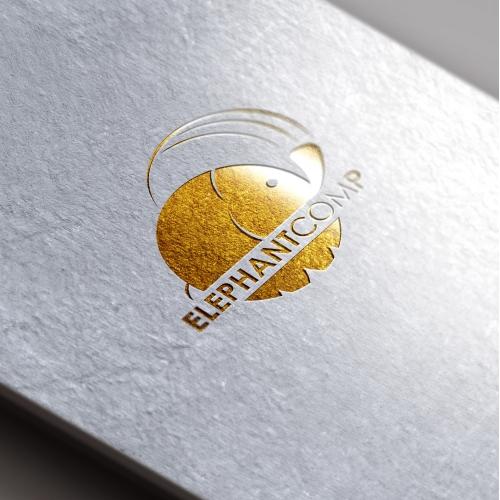 Elephant washing company Logo