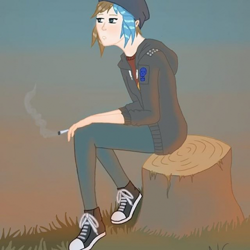 chloe price smoking - life is strange: before the storm