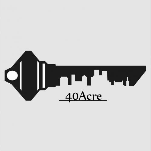 40acre brand logo design