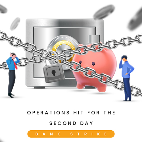 Bank Strike - Social Media Post