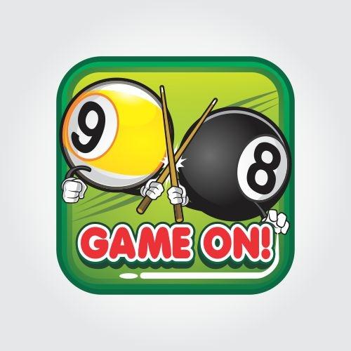 game on logo app icon