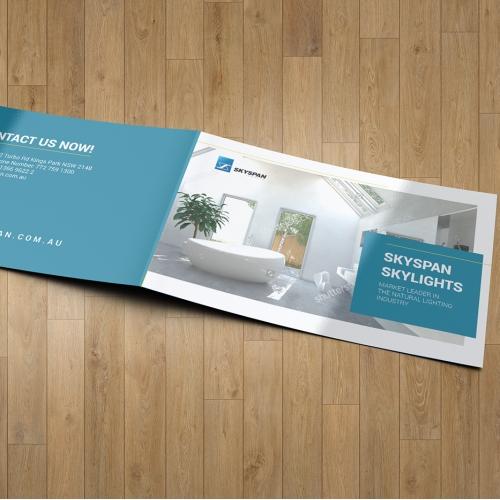 Brochure Design Mock-up