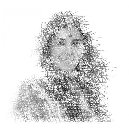 pencil sketch effect done in photoshop