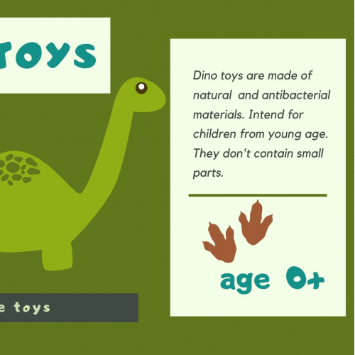 package label for made toys