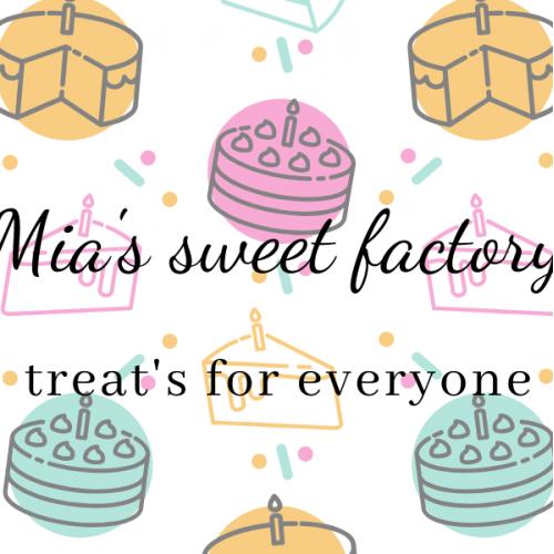 business card for cakes shopp