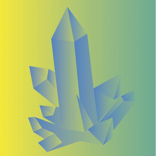 Crystal Digital Drawing