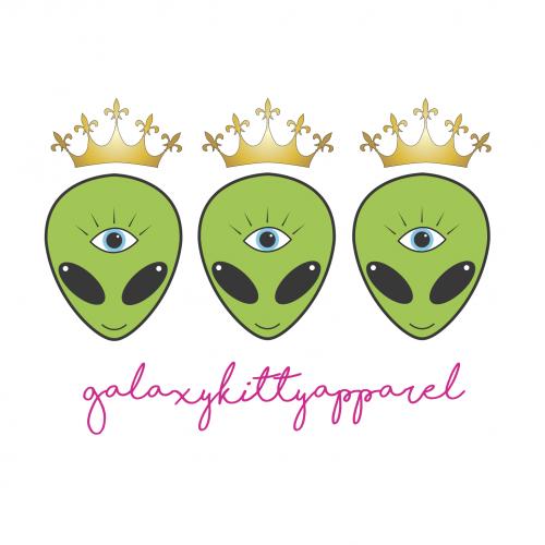 Galaxy Kitty Apparel Logo