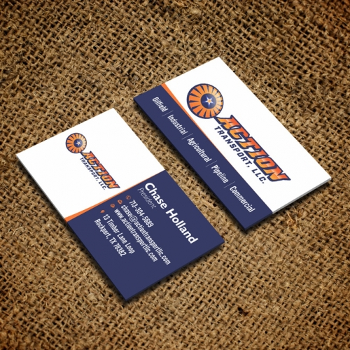 simple clean Busimess card design