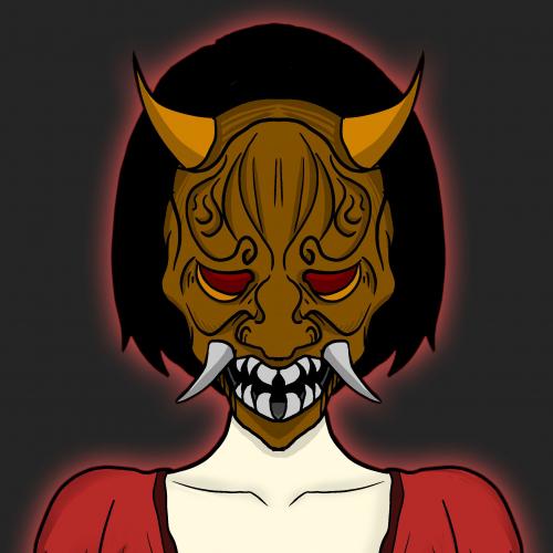 Demon Masked Onna