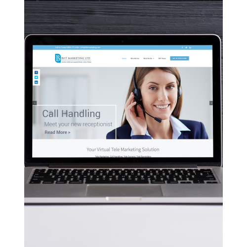 BHT Marketing Website