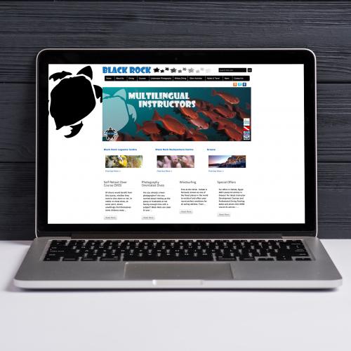 Black Rock Dive Center - Website