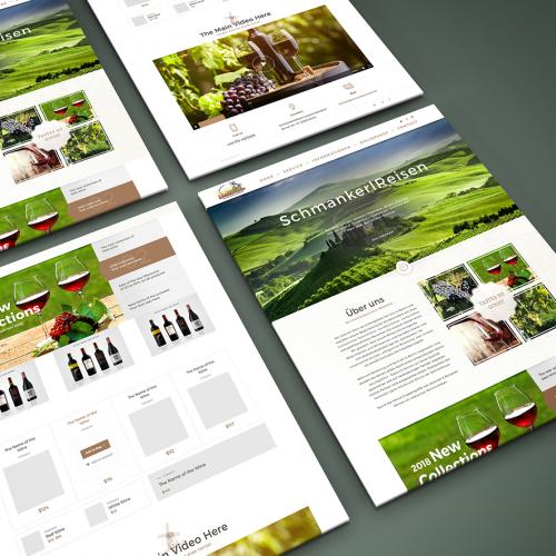 Webdesign for \