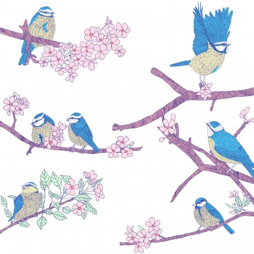A spring  gathering