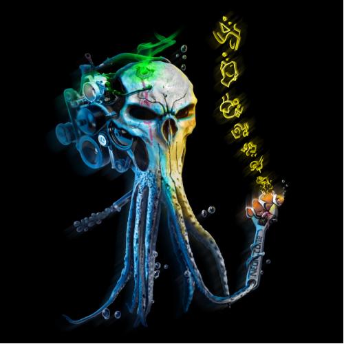 The Squid 2. ( Neon corp. Underwater series).