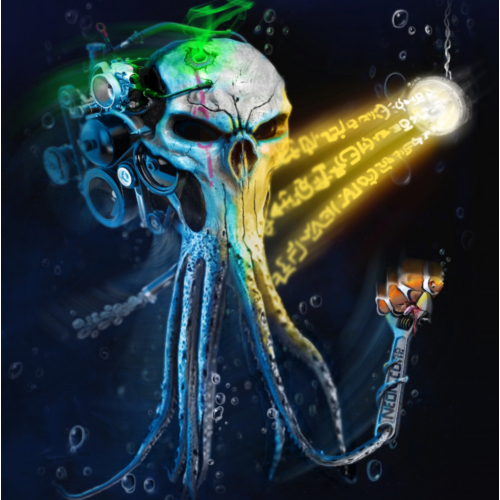 The Squid. ( Neon corp. Underwater series).