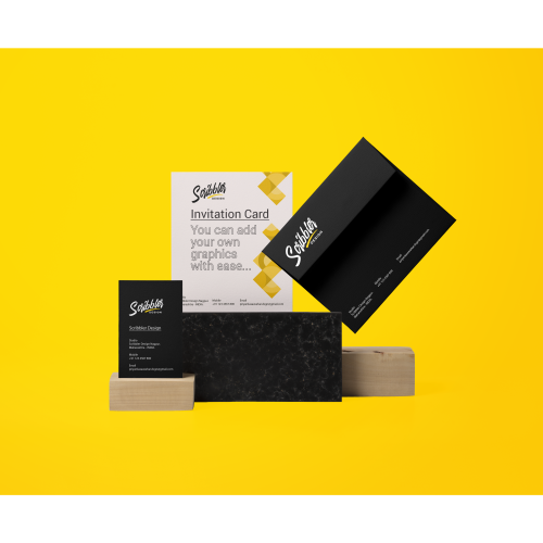 Scribbler Invitation-Stationery-Presentation