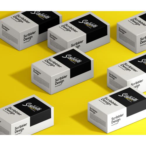Scribbler Design_Champagne Box pakaging
