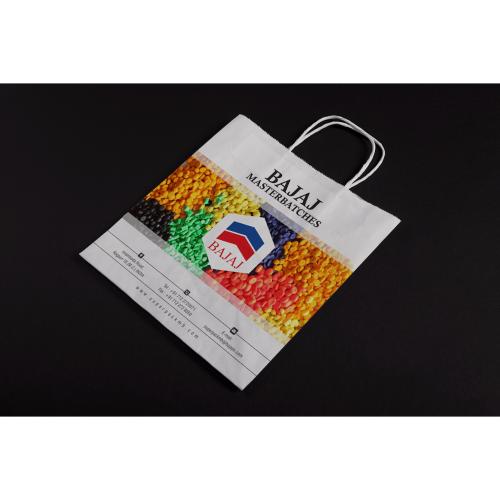 Bajaj Masterbatches Paper bag design