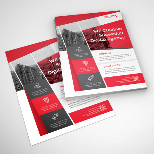Print Flyer design