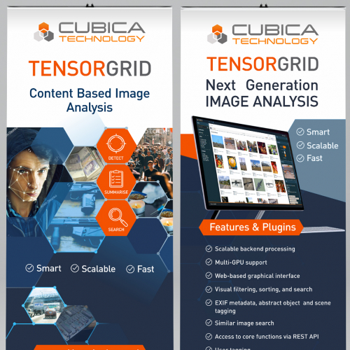 Roll Up Banner for Cubica Technology