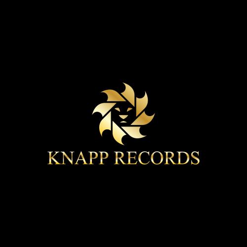 Logo for a record company