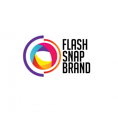 colorful photobooth brand  logo