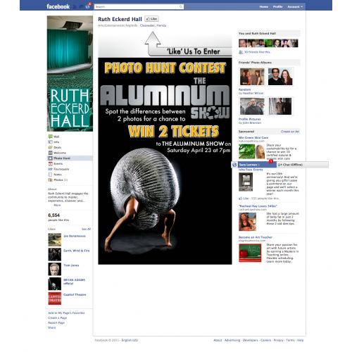 Facebook Contest