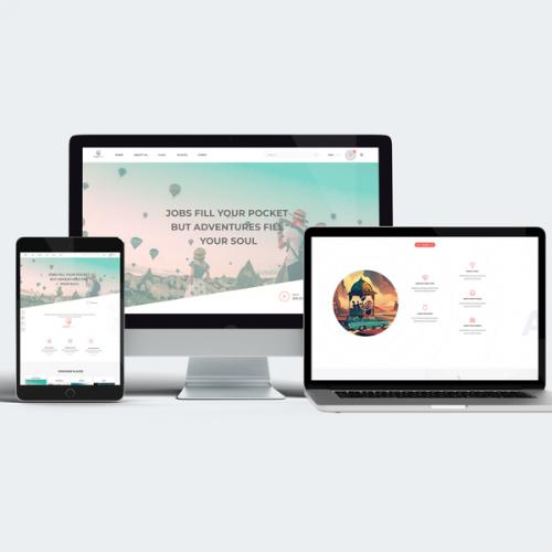 Travel blogging website