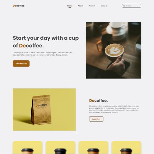 web design decoffee