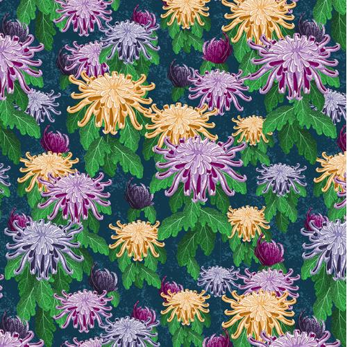 Chrysantemum pattern