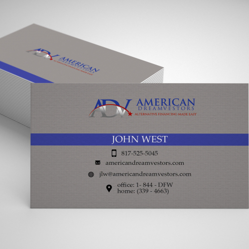 Financial Business Card