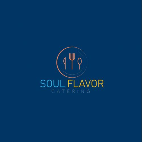 Catering Soul-Flavor Logo Design