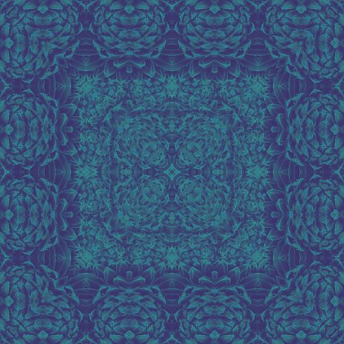 Cactus art- Scarf