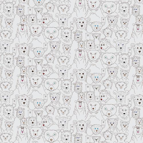 Portraits of bears