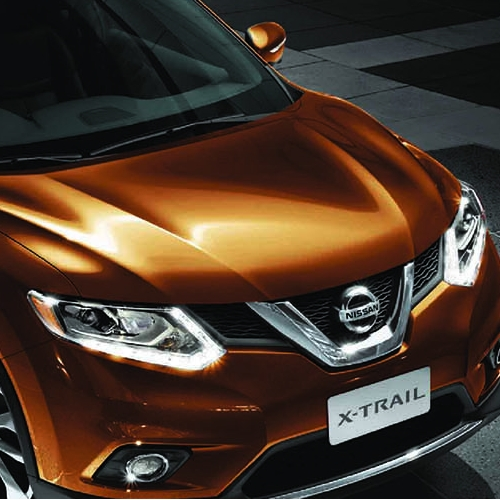 Nissan Indonesia X-Trail leaflet
