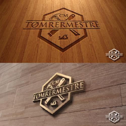 Construction Logo Design required by CM TØMRERMESTRE
