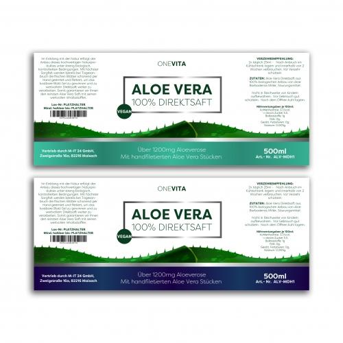 Aloe Vera Label