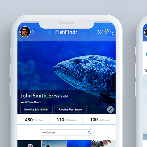 Fishing social app