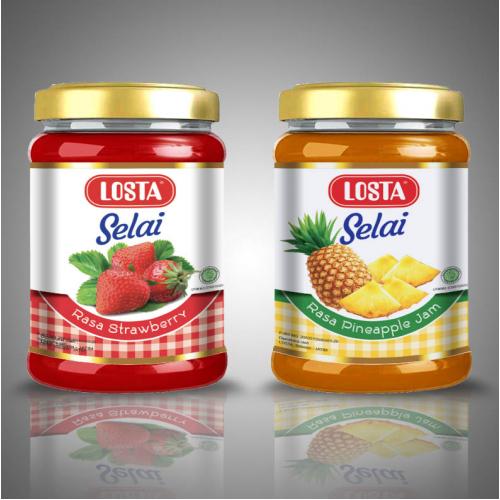 Label design for Bottle Jam