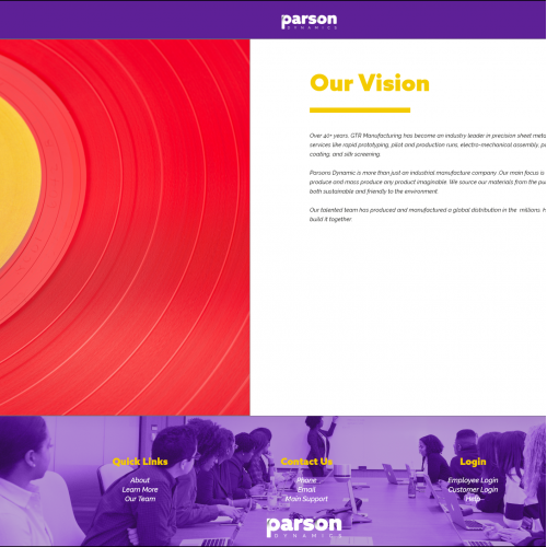 Industry Redesigned (Vision Page)