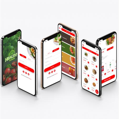 Healthy Food Ordering App