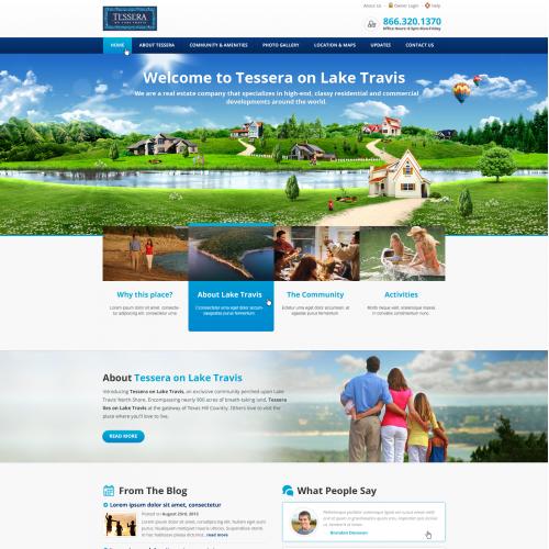 Community Website